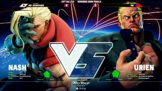 SFV: RB|Bonchan vs RB - Red Bull Battle Grounds Top 8 - CPT 2016