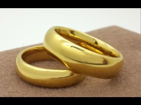 Saudi Gold Wedding Ring Design YouTube