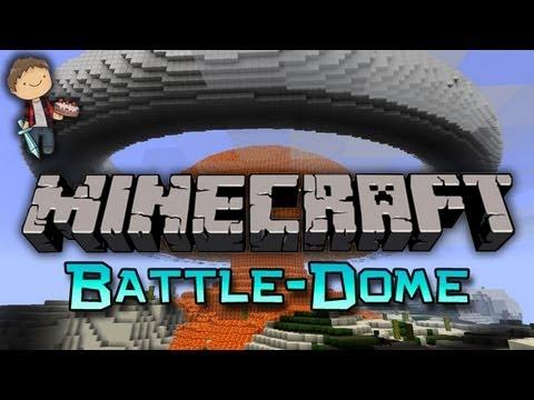 Minecraft: BATTLE-DOME Mini-Game w/Mitch & Friends!