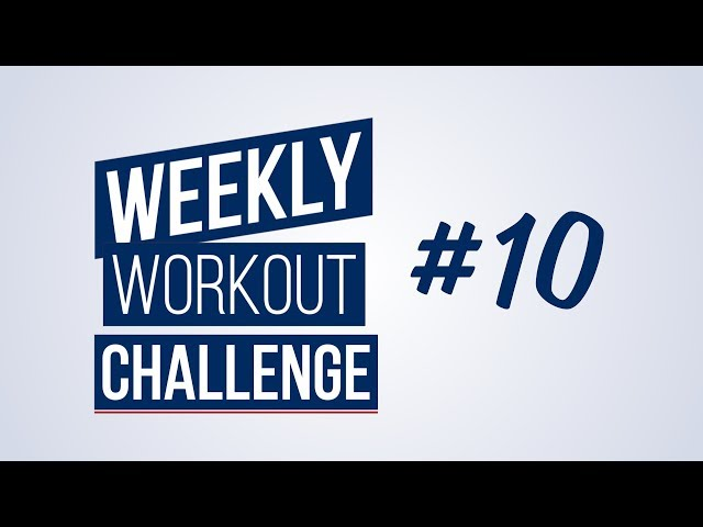 Weekly Workout Challenge #10 | Renaud Center