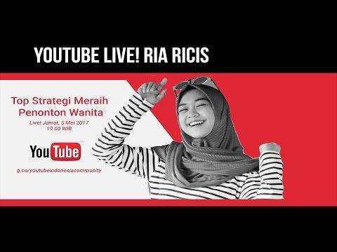 Hangout Bareng YouTubers #9 - Ria Ricis