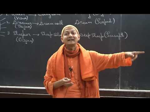"Swami Sarvapriyananda at IITK - ""Who Am I?"" according to Mandukya Upanishad-Part 2"