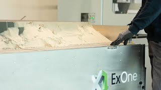 ExOne Desanding Station for Industrial Sand 3D Printers (Furan and CHP)