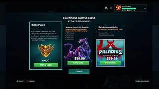 1500 Paladins Crystals Xbox One — buy online and track price