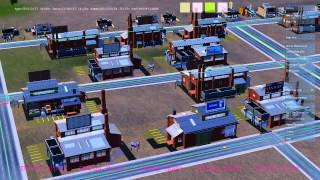 "SimCity ""Glass Box Scenario 1 - The Economic Loop"" Trailer"