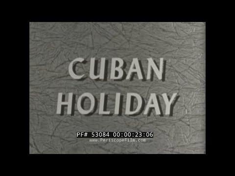 1950s CUBA & ISLAND OF MARGARITA CARIBBEAN  ST. PETERSBURG TRAVELOGUE FILM 53084
