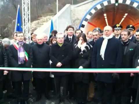 Inaugurazione SS 237 Vobarno Sabbio - Inno d'Italia