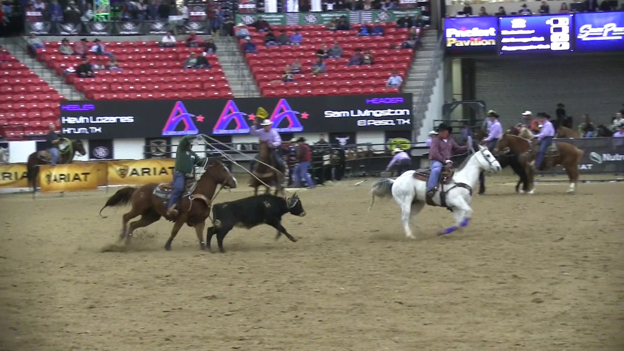 Williams Auto Group >> World Series of Team Roping #12 Short Go 12-6-2016 - YouTube
