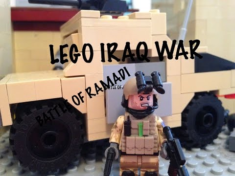 LEGO Battle of Ramadi - Iraq War (1/2)