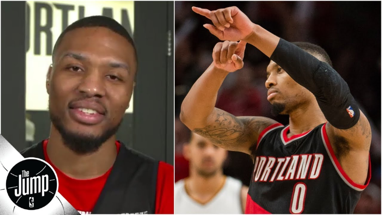 'That was the moment I knew he was mine' - Damian Lillard on son's 'Dame Time' move   The Jump