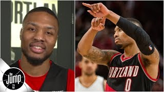 'That was the moment I knew he was mine' - Damian Lillard on son's 'Dame Time' move | The Jump