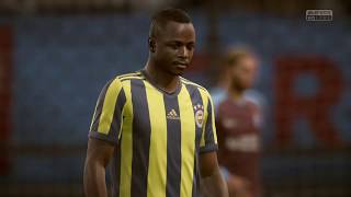 Trabzonspor - Fenerbahçe FIFA 18 Maçı 25.11.2018