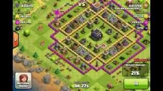 Epic 850K resources raid (clash of clans)