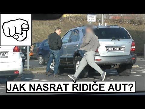 PRANK CAR DRIVERS / JAK NASRAT ŘIDIČE AUT (JM CREW)