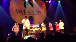 Wu-Tang Clan - Duel of the Iron Mic/Liquid Swords/Shadowboxin' (Live @ House of Blues)
