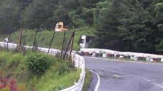 2009年7月26日 徳島県阿讃サーキットで開催。 スーパーモタードMOTO1中...