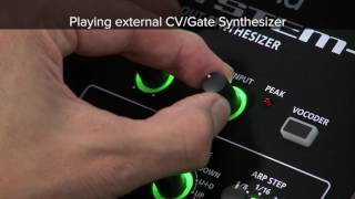 "SYSTEM-8 Quick Start 09 ""To Play External CV/Gate Synthesizer"""