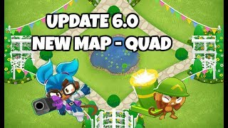 BTD6 New EXPERT Map - QUAD (feat  Scientist Gwen) by Ethan Reid