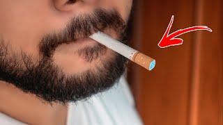 Mario Lopez's FUNNY Confขsing Cigarette Trick REVEALED