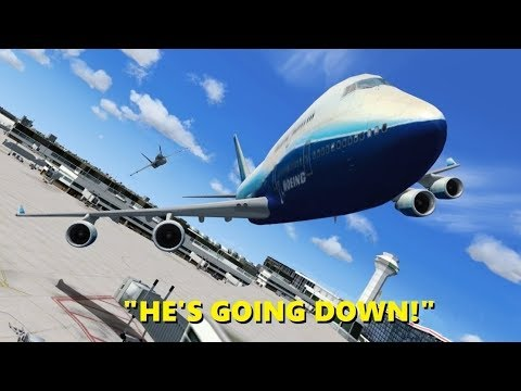 Guy Pretends to be Air Force One in Flight Simulator X (and Crashes) |