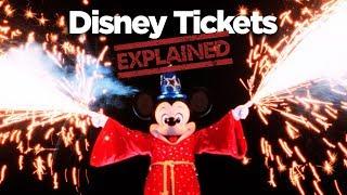 Disney World Tickets EXPLAINED