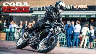 Husqvarna Svartpilen 401 vs city traffic - just ride