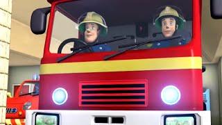 Sam il Pompiere italiano 🚒 Hacer sonar la sirena 🔥Il meglio di Sam! 🔥 Cartoni animati