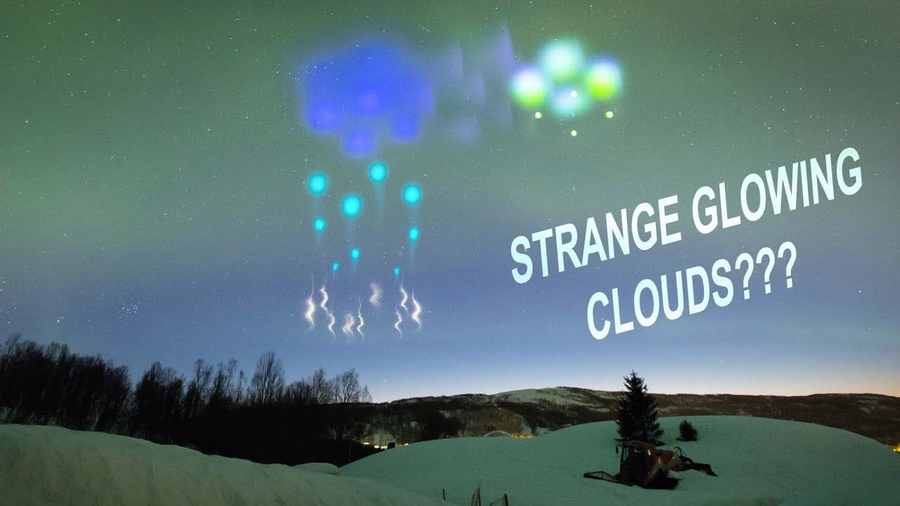 NASA's AZURE rockets create strange glowing clouds over Norway to study aurora - timelapse 4K