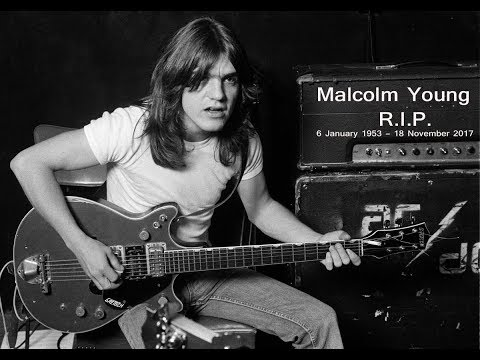 Jeff K - Remembering Malcom Young, Gone On This Day In 2017
