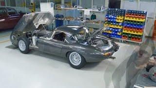 Jaguar Lightweight E-type - Oldtimer-Schönheit in Neuauflage (2015)