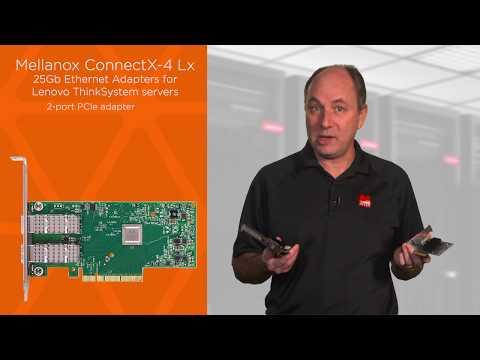 Mellanox ConnectX-4 Adapters Product Guide > Lenovo Press