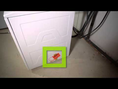 GE Unitized Spacemaker Washer - Noise from Shipping Rod