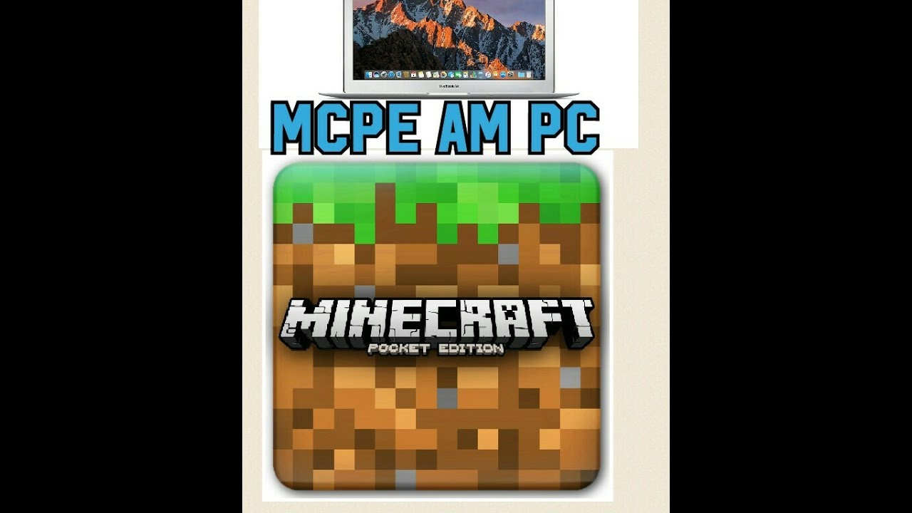 Minecraft Pocket Edition Am Pc Spielen LaptopPCMac YouTube - Minecraft spiele zum testen
