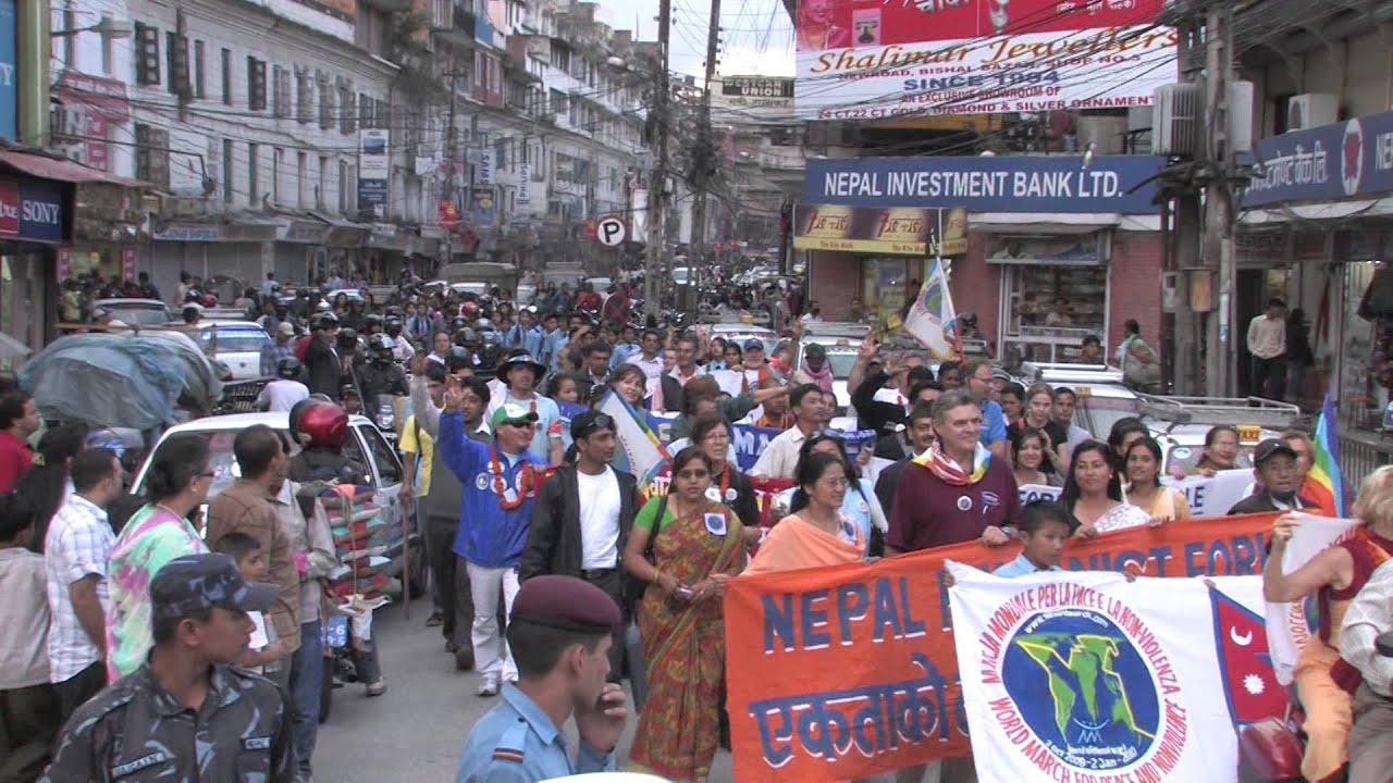 Videoclip de La Marcha Mundial por la Paz y La NO Violencia