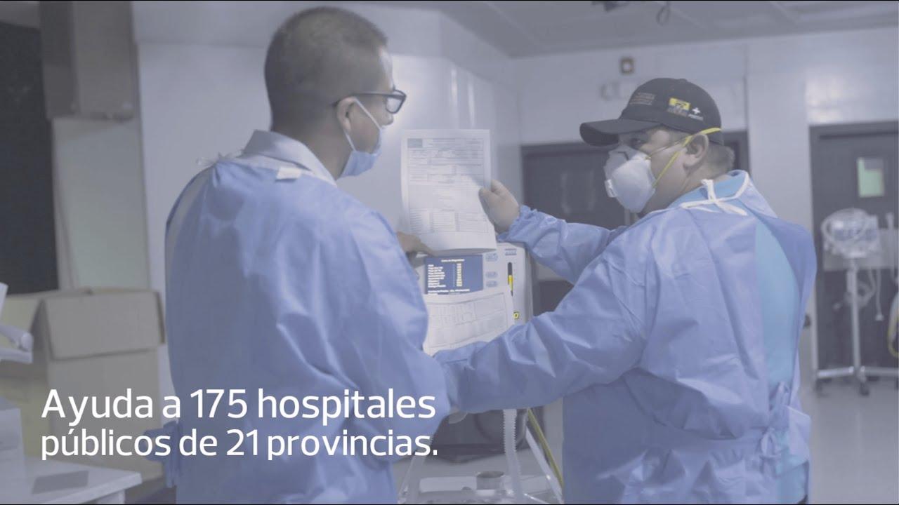 #SumarJuntos: reparación de respiradores para 175 hospitales