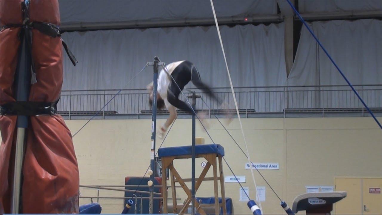 how to make a gymnastics high bar