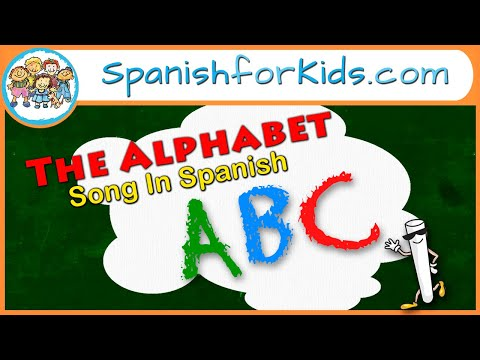 El Alfabeto - The Alphabet in Spanish