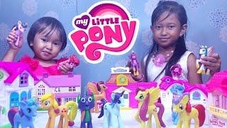 Mainan Rumah Rumahan MY LITTLE PONY Friendship is Magic 💖 Let's Play Jessica Jenica