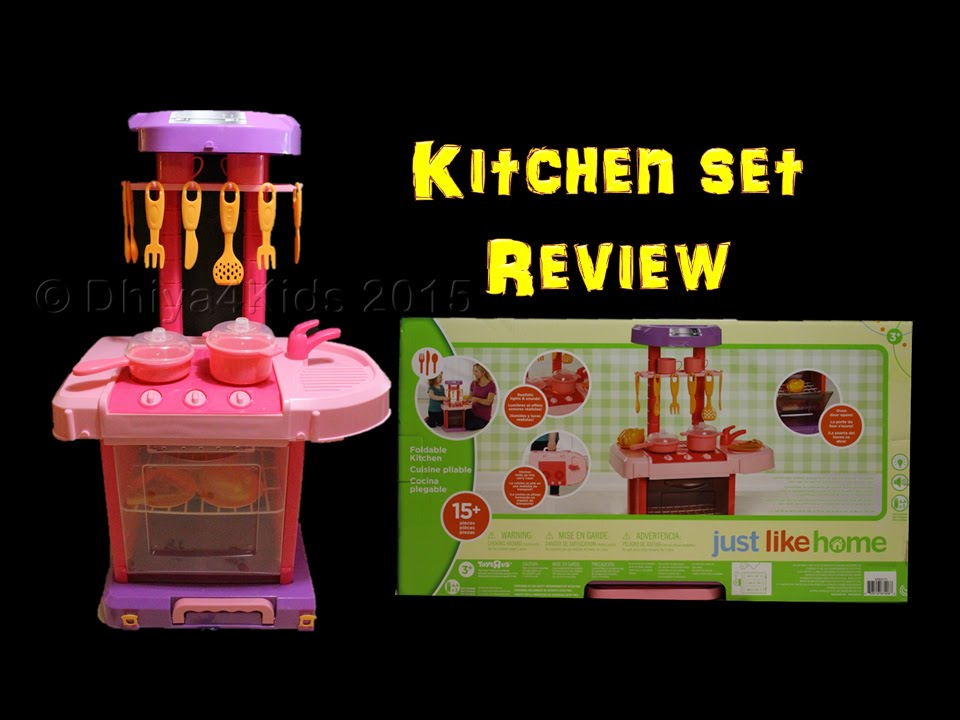 Just like home Foldable Kitchen - Review