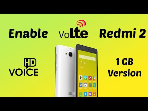 Hindi  How To Enable Volte In Redmi 2 ( Jio 4g ) 100 Working