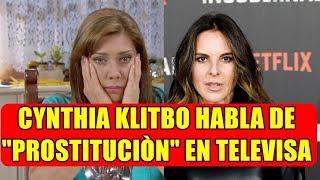 cynthia klitbo rompe el silencio y habla del trat0 que televisa le da a las actrices