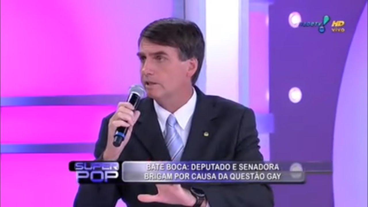 Bolsonaro: péssimo e desumano em discursos desde os tempos do Superpop. (Foto: Reprodução)