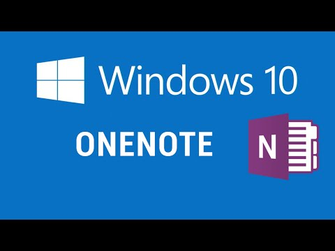 Windows 10 - OneNote