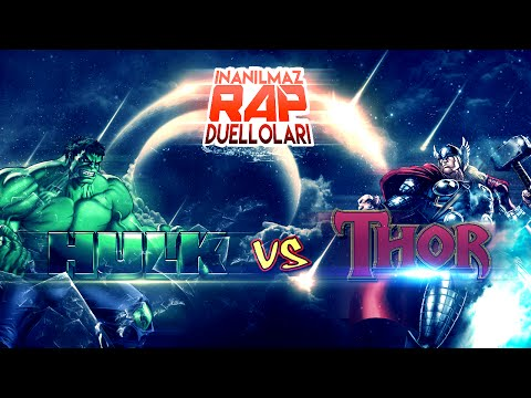 Hulk vs Thor   İnanılmaz Rap Düelloları