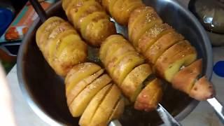 Очень вкусный картофель на мангале