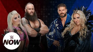 WWE Superstars react to the first Mixed Match Challenge teams: WWE Now
