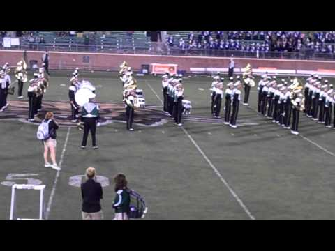 Ohio University Marching 110 - Postgame - Drive Off - 9/8/2012