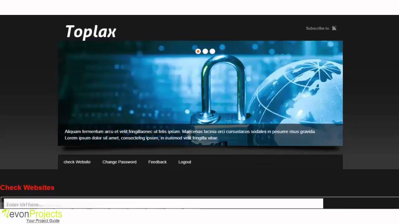 Intelligent Rule based Phishing Websites Classification - YouTube