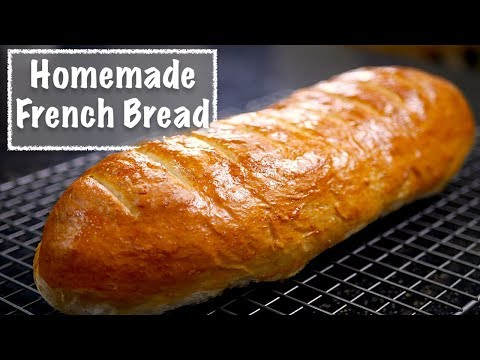 Homemade French Bread Recipe - How Easy Can It Be To Make Your Own Bread?