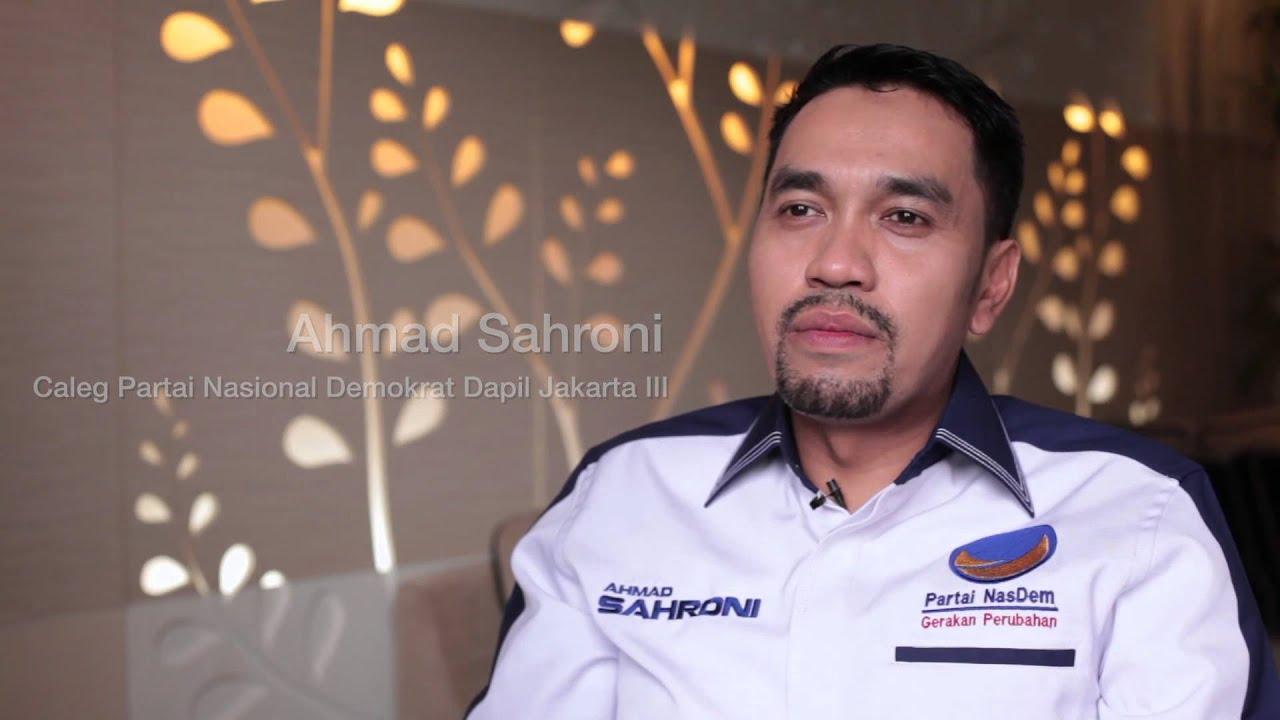 Ahmad Sahroni Photo: Politik Ada Dua Pilihan, Ya Atau Tidak!